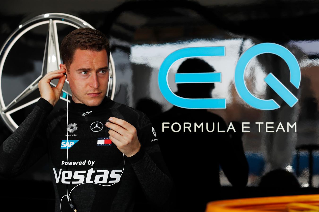 Stoffel Vandoorne bereidt zich voor de op de Diriyah E-Prix 2021 van afgelopen weekend.