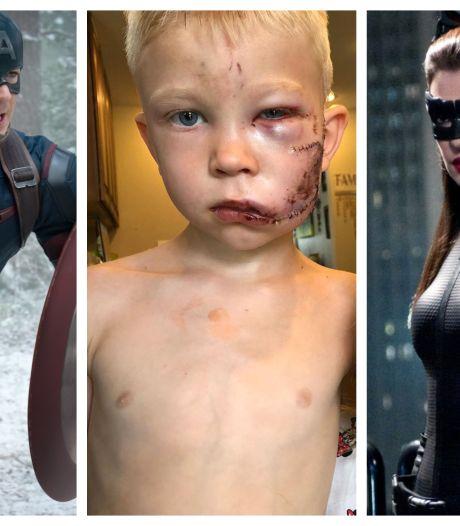 Heldhaftig jongetje ontroert Hollywoodsterren: 'Ik herken een superheld wanneer ik er een zie'