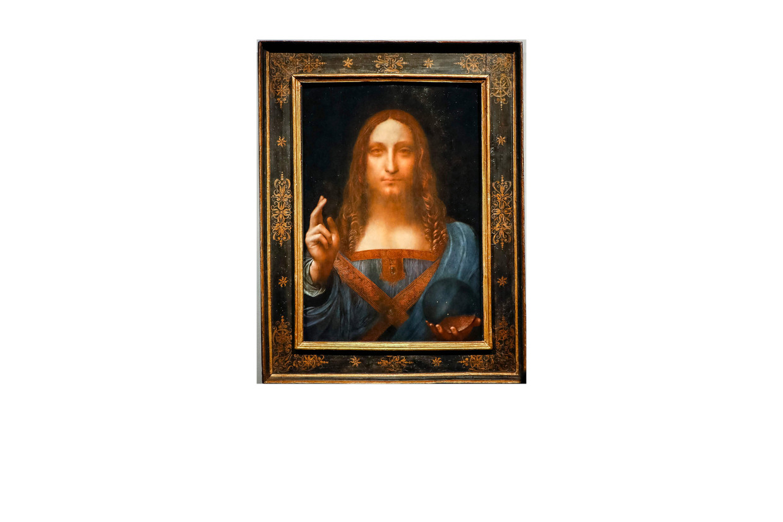 'Salvator Mundi', Leonardo da Vinci (?), ca. 1500.