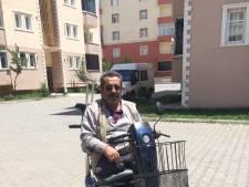 Scootmobielen en rolstoelen uitgedeeld in Turkije