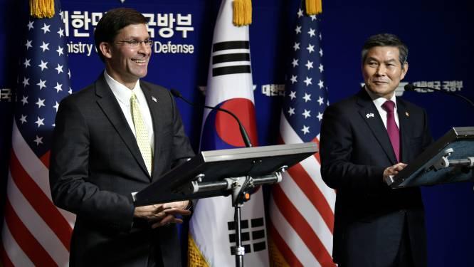Amerika en Korea schorten militaire oefening op vanwege vredesproces met Noord-Korea