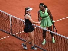 Serena Williams onderuit op Roland Garros, Osaka bedankt fans voor 'alle liefde en steun'