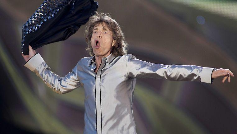 Mick Jagger. Beeld EPA