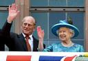 Prins Philip en koningin Elizabeth.