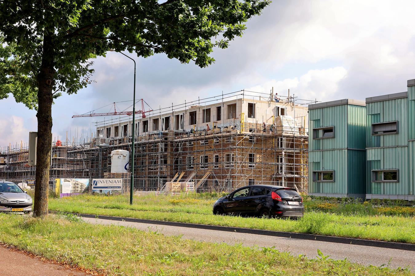 Hoogste punt voor appartementengebouw met sociale woningbouw in Heem van Selis in Boxtel.