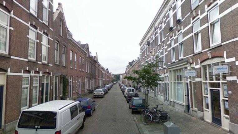 De Aegidiusstraat in Rotterdam Beeld Google Streetview