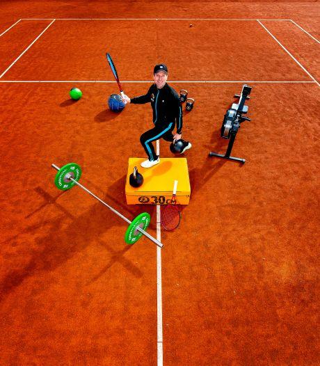 Tennis zit bomvol powerlunges, jumpsquats en rotations: De ideale total body work-out