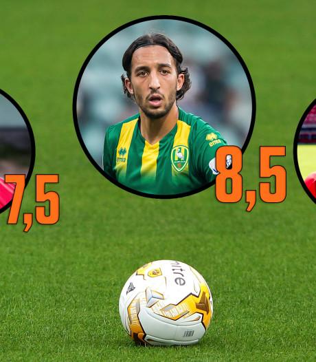 Alleen Pasveer en Castaignos voldoende bij Vitesse, El Khayati torent boven iedereen uit