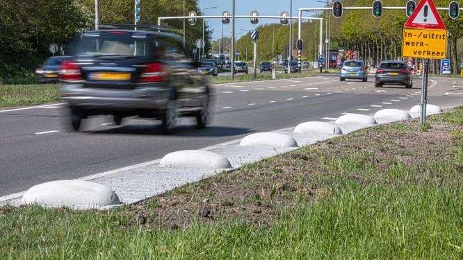 Uitslag poll: meer dan de helft vindt verkeershobbels langs IJsselallee Zwolle gevaarlijk