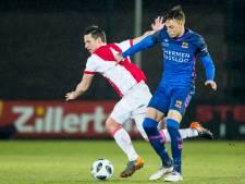 Go Ahead krabbelt op en wint weer van Jong Ajax