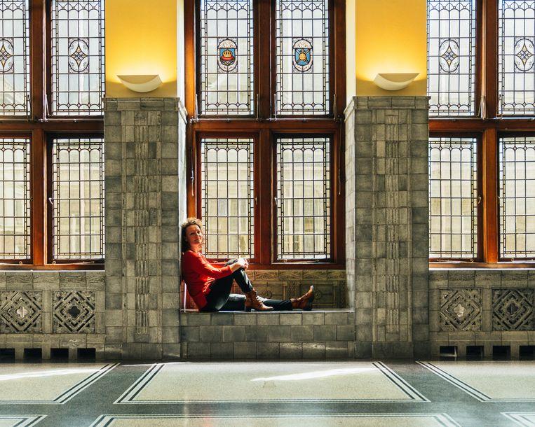 Het Binnenhof is een onveilige omgeving, zegt SP-Kamerlid Renske Leijten. 'Iedereen met wie je iets opbouwt, staat klaar om met je af te rekenen.' Beeld Rebecca Fertinel