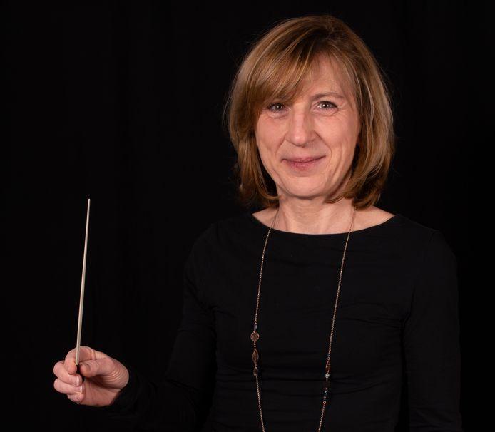 Ria Van Ermen is de eerste vrouw van haar familie die haar naam vestigde als dirigente.