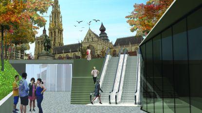 Antwerpen wil naast Groenplaats ook hele omgeving heraanleggen