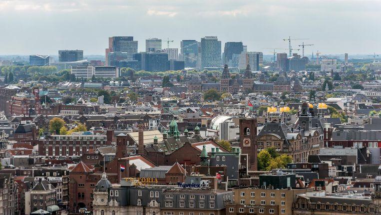 De woningen in Amsterdam zijn gemiddeld 16 procent meer waard geworden Beeld Hollandse Hoogte