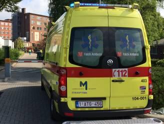 Passagier lichtgewond bij ongeval