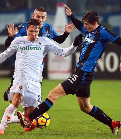 Subtoppers Atalanta en Fiorentina 'delen' de punten