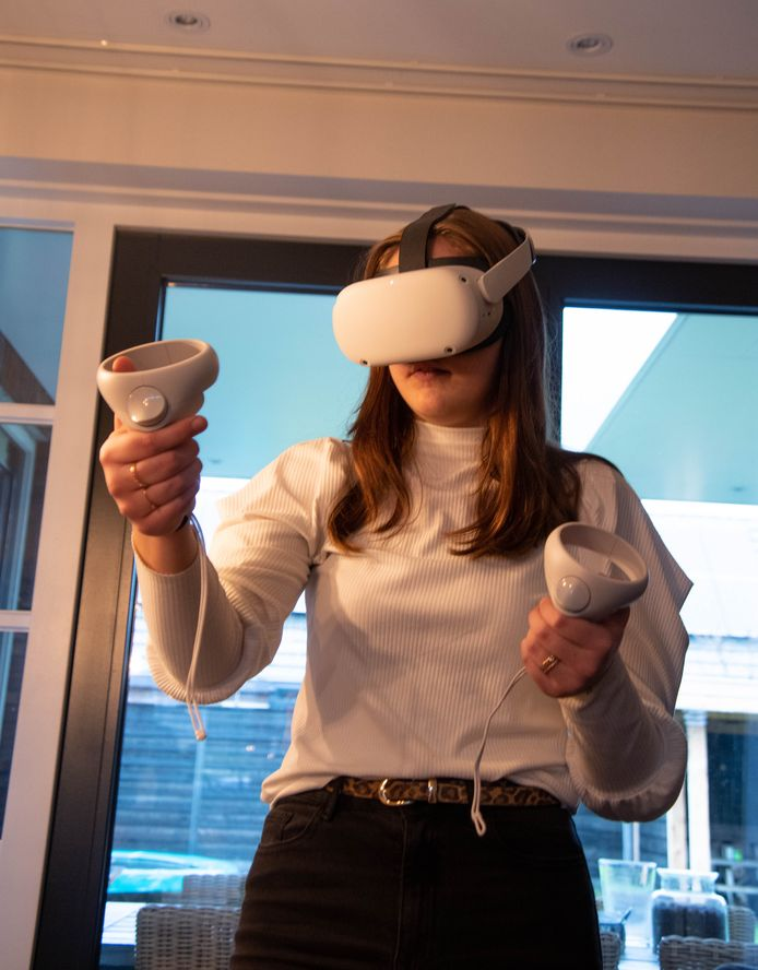 Leerling test Virtual Reality bril