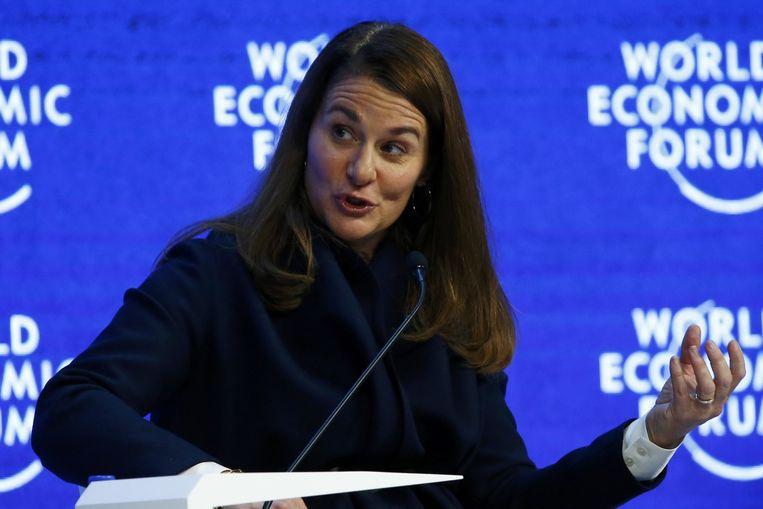 Melinda Gates. Beeld reuters