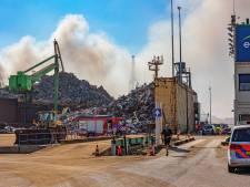 Stankoverlast door brand op zeeschip in Botlekgebied