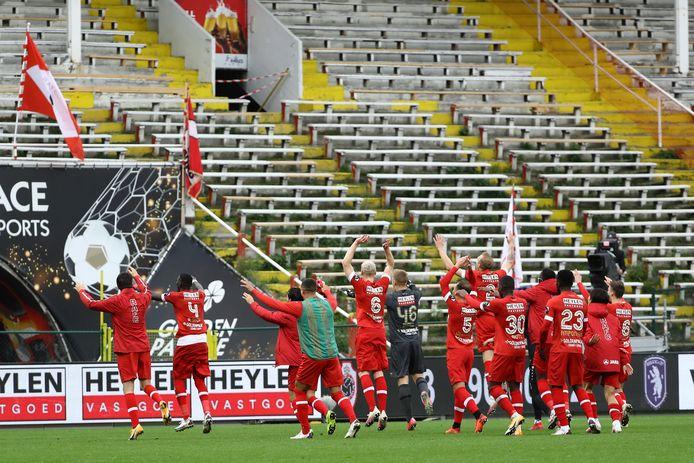 De spelers van Antwerp.