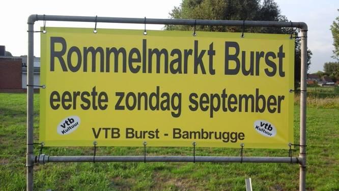 Grote Rommelmarkt in Burst op zondag 5 september