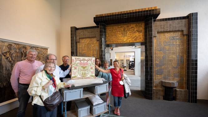 Grootste tegelmuseum van Duitsland gaat Hemiksemse keramiektegels tentoonstellen