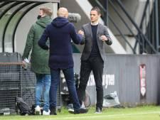 NEC-trainer Meijer stille getuige van ereronde: 'Het was mooi om te zien hoe iedereen uit zijn dak ging'