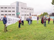 Demonstratie tegen opening biomassacentrale op Industriepark Kleefse Waard