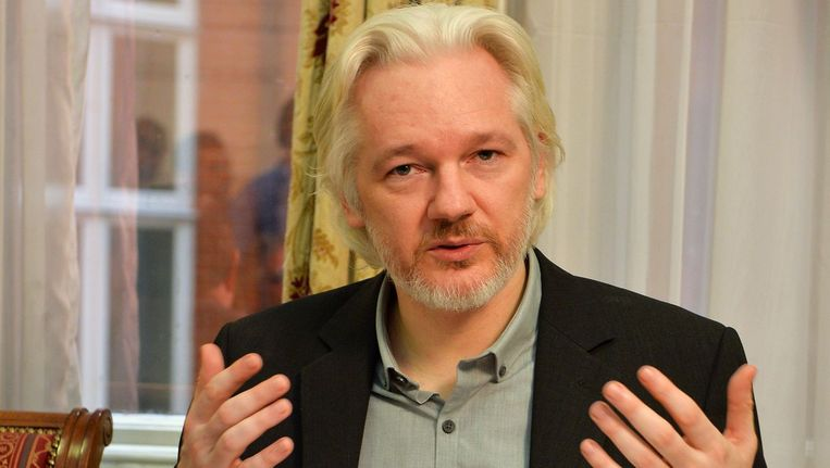Julian Assange. Beeld GETTY