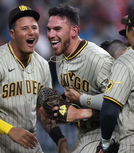 Lokale honkbalheld schrijft geschiedenis: na 8205 duels eindelijk 'no-hitter' voor Padres