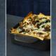 Lasagne met paddenstoelen en blauwe kaas