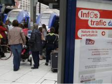 La France perturbée par une grève des trains