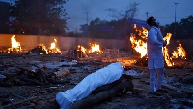 Opnieuw recordcijfers in India: nooit zo veel doden op één dag, helft deelstaten nu in complete lockdown