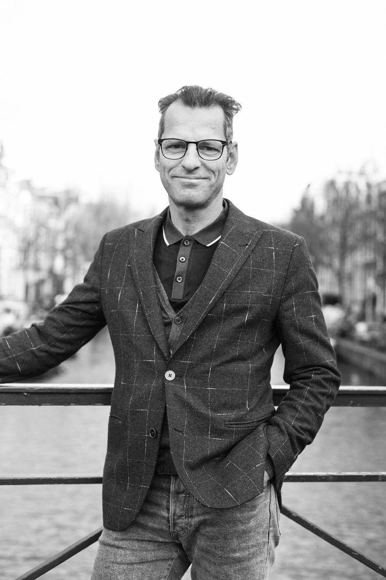 Andy van den Dobbelsteen, Hoogleraar Climate Design & Sustainability aan de TU Delft en principal investigator bij het AMS Institute. Beeld -