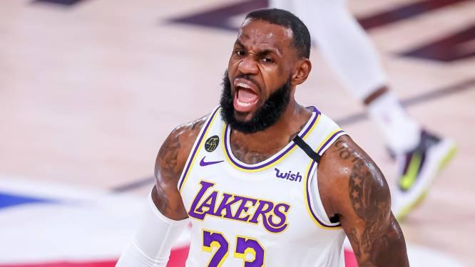 LeBron James pakt record: voor 16de keer in All Star-team NBA