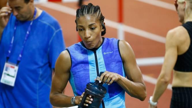 """Belgische medaillehoop Nafi Thiam is mentaal ijzersterk: """"Zo lang ze twee armen en twee benen heeft, zal Nafi zich niet gewonnen geven"""""""