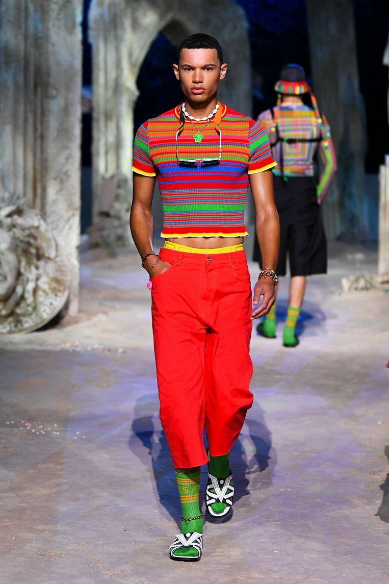 Versace, zomer 2021 Beeld Imaxtree