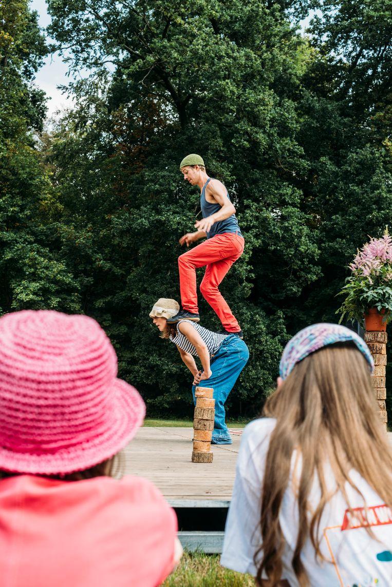 'Ex Aequo' van Circus Katoen. Beeld Eva Beeusaert