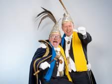Prins Arno II en adjudant Twan heersen dit carnavalsjaar over Oss