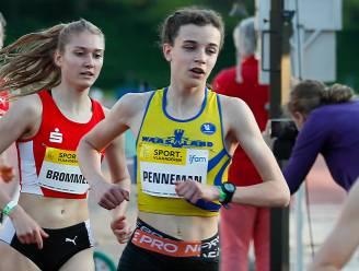"""Charlotte Penneman (16) loopt donderdag 3000m op EK U20: """"Ik voel geen druk"""""""