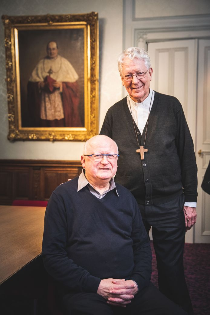 Lode Van Hecke en Luc Van Looy.