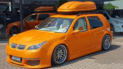 Deze VW Golf 4 met BMW-koplampen zoekt een nieuwe eigenaar