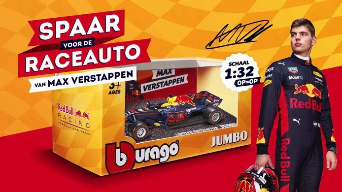 De miniatuur racewagen