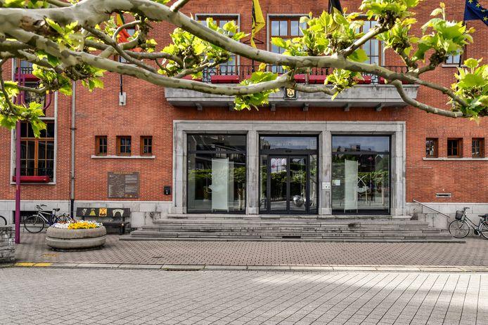 Het gemeentehuis van Zele.