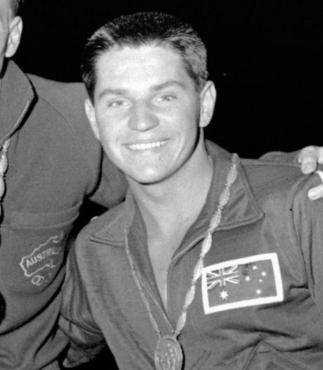 Groot zwemkampioen Konrads (26 wereldrecords) overleden