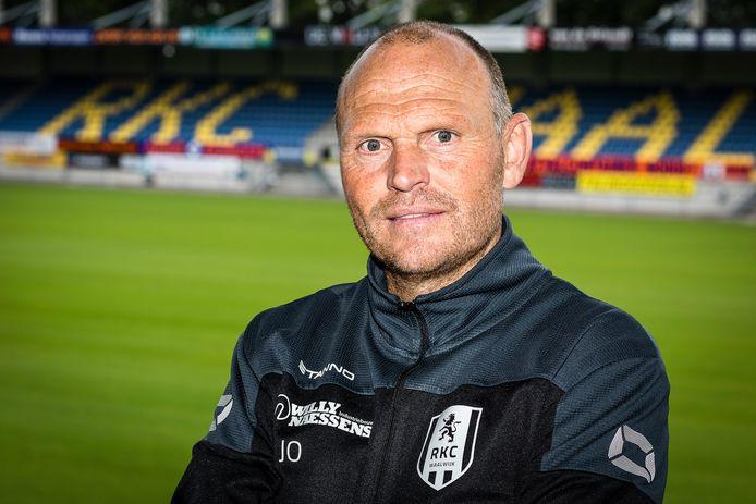 Joseph Oosting, trainer van RKC.
