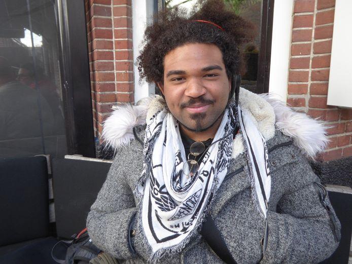 De Woerdense rapper Ido Hoogendoorn.