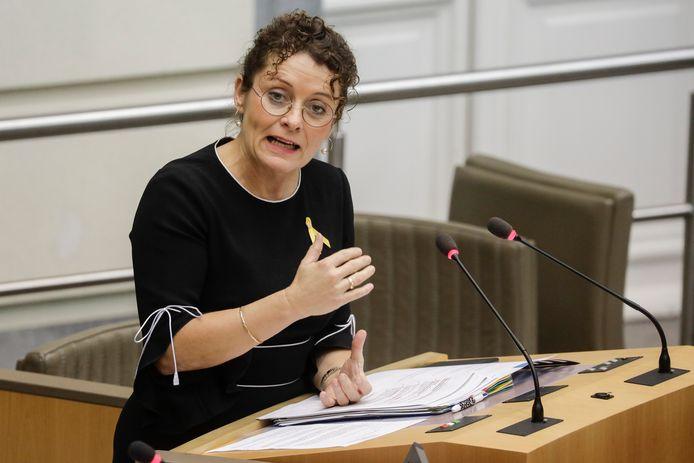 Vlaams minister van Mobiliteit Lydia Peeters (Open Vld).