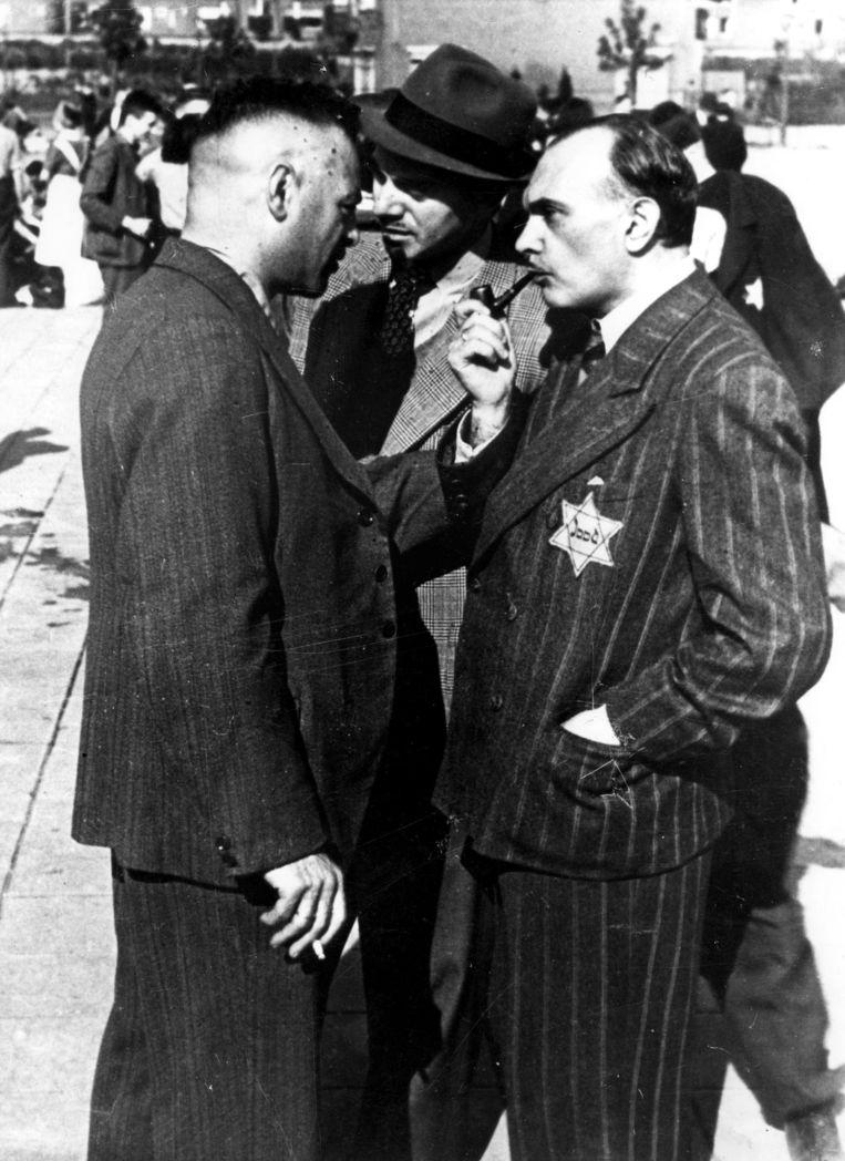 In de werkkampen zaten 8000 Joden, met 22.000 familie-leden die van hen afhankelijk waren. Beeld Bart de Kok