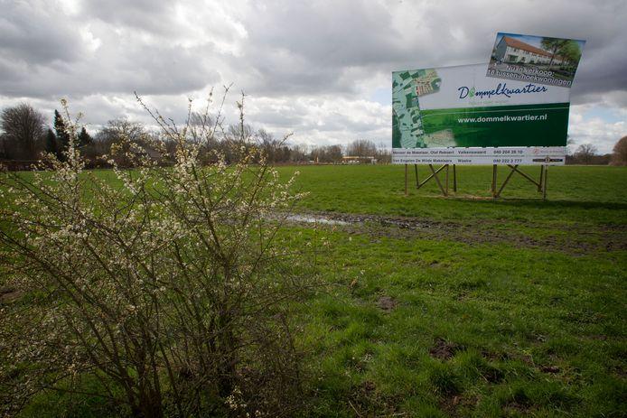 De aankondiging van Dommelkwartier, de Valkenswaardse nieuwbouwwijk die er nooit kwam.